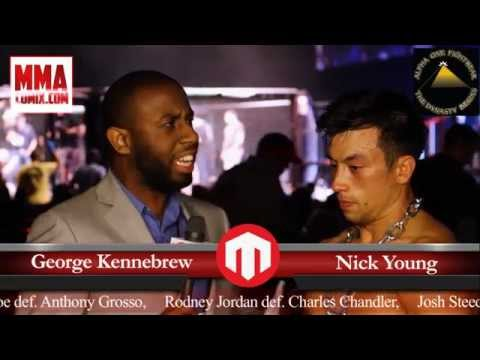 """Fight Lab 39 Interview With NickYoung... """"I'm honored to be a part of Fight Lab."""""""