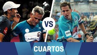 Resumen cuartos de final Valladolid Open (Lamperti/Mieres Vs Paquito Juan Martín) | World Padel Tour