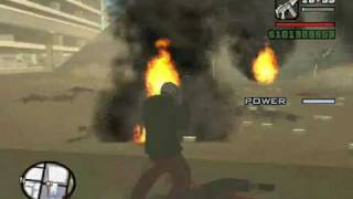 GTA SA war for San Andreas pt1 Las Venturas