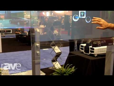 InfoComm 2016: Vislogix Highlights EZtouch Transparent Interactive Film