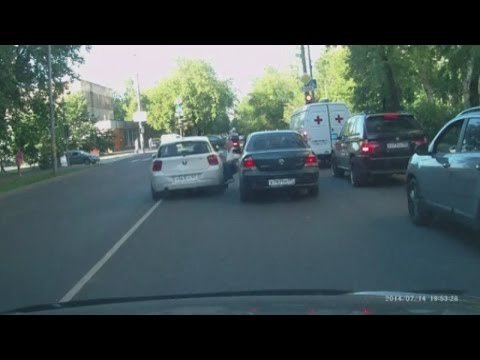 Shocking footage: Man run over in road rage hit and run