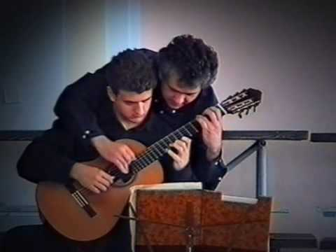 Goran Krivokapic and his professor Srdjan Tosic - J. Dowland - Galliard