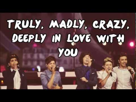 One Direction - Truly Madly Deely