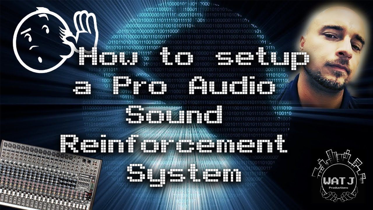 Audio Setup For Church How to Setup a Pro Audio Sound