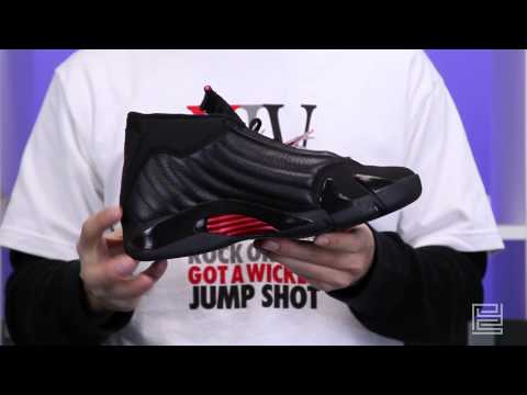 Nike Air Jordan XIV Last Shot black varsity red black 311832-010