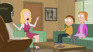 Rick and Morty - Beth is cornered - F**k Both of You [UNCENSORED]