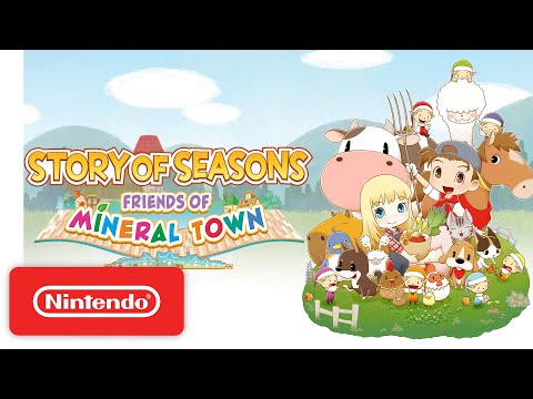 STORY OF SEASONS: Friends of Mineral Town - Launch Trailer - Nintendo Switch