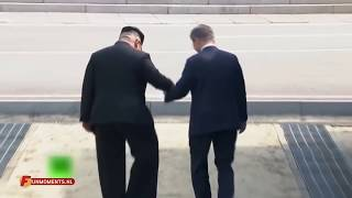 Kim' welcome surprise for Moon