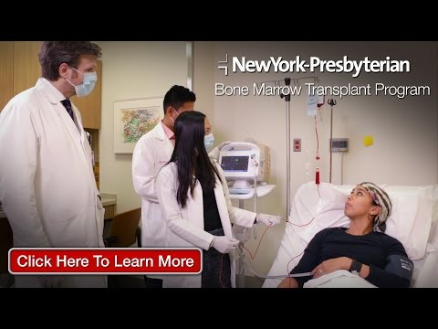 Blood Cancer Treatment NY | Stem Cell Transplant NY | NewYork Presbyterian Hospital