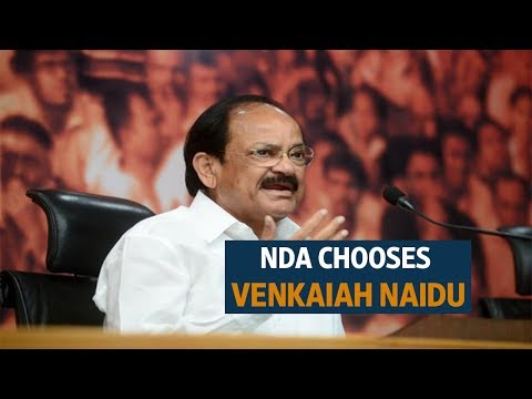 It's Venkaiah Naidu vs Gopalkrishna Gandhi in Vice Presidential election