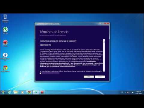 Tutorial para Actualizar Windows 7 a Windows 8 Pro Final