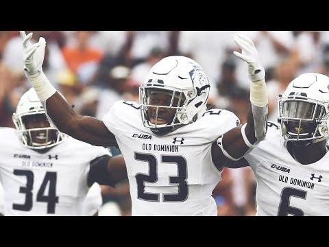 Old Dominion Upsets #13 Virginia Tech   2018 CFB Highlights