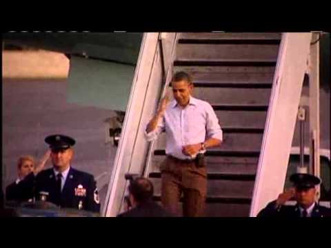 Obama Arrives In Hawaii For Christmas Vacation