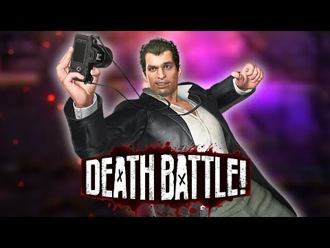 Frank West Reports to DEATH BATTLE