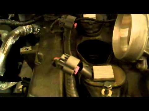 2002 GMC Envoy Replacing The Throttle. Reduce Engine power code P1221