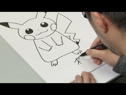 Comment dessiner Pikachu avec Ken Sugimori, le directeur artistique des personnages Pokémon !