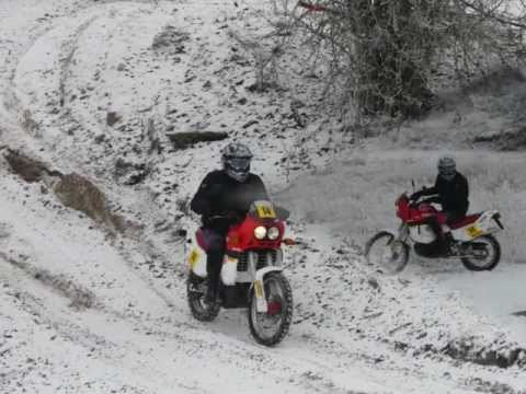 Winter Ride Aprilia Tuareg Wind 125  (2012)