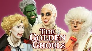 THE GOLDEN GHOULS  - Golden Girls Halloween Parody! ft. Allison Scagliotti