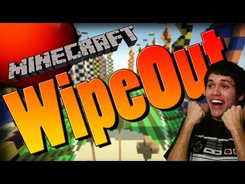 Minecraft Mini-Game: The Wipeout Zone!