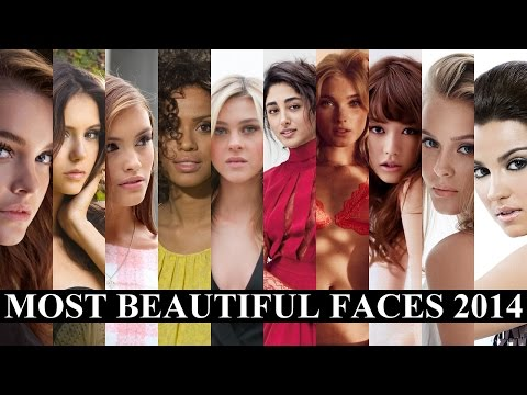 The 100 Most Beautiful Faces Of 2014 video