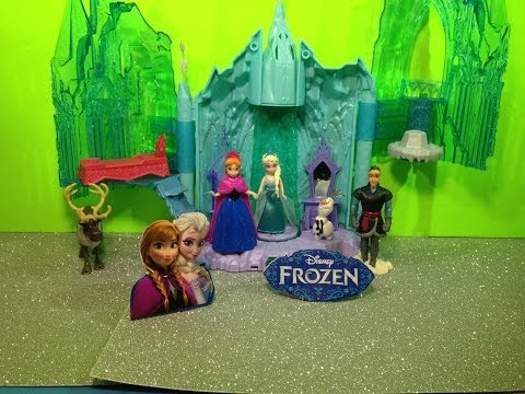 Disney Frozen Queen Elsa Magical Light Up Palace Disney Frozen Movie Princess Playset
