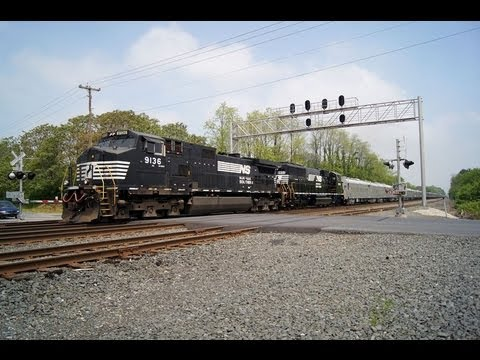 NS 047 - RBBB Circus Train to Hershey, PA on the Harrisburg Line