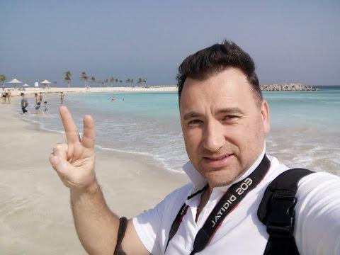 Лучшие пляжи Дубая: Al Mamzar Beach, январь 2017