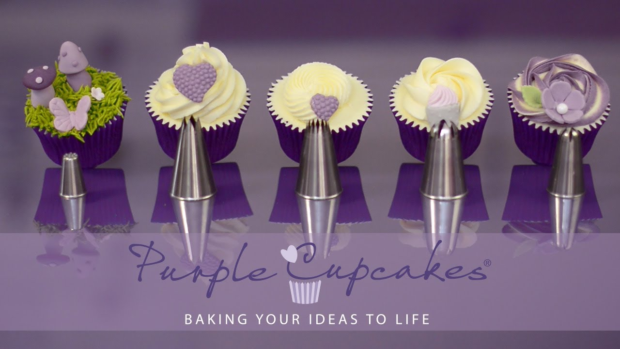 Baking Buttercream And More Flat Top Cupcakes And Swirls