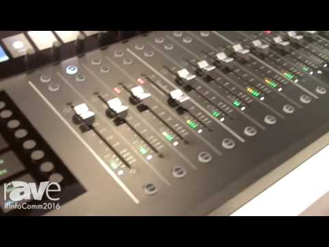 InfoComm 2016: Mackie Reveals Axis Digital Mixing System