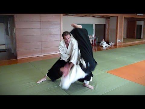 Aikido - Guillaume Erard 4th Dan Aikikai in Tokyo (July 2013)
