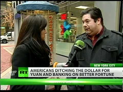 Americans abandoning dollar to bank with China?