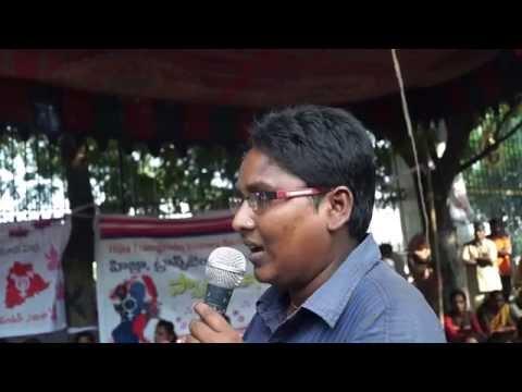 Day Long Protest By Telangana Hijra Intersex Transgender Samiti video