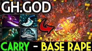 GH-God Dota 2 [Earthshaker] Carry Role - Base Rape