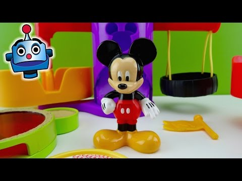 Mickey Mouse Parque de Juegos de Mickey Playground - Juguetes de Mickey Mouse