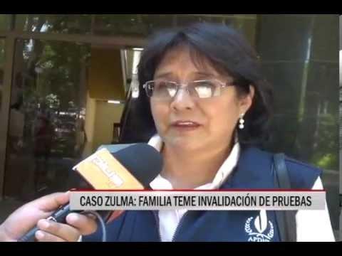 15/10/2014 - 13:04 CASO ZULMA FAMILIA TEME INVALIDACIÓN DE PRUEBAS