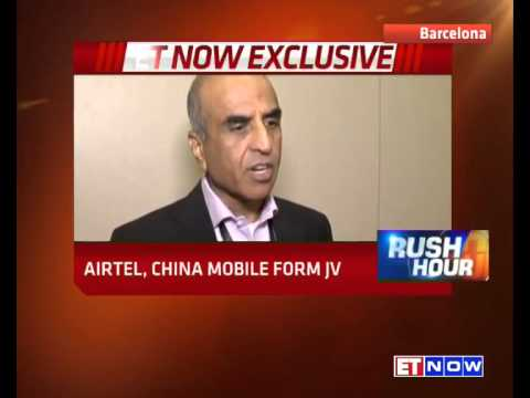 Sunil Mittal To ET NOW On Airtel - China Mobile JV To Take On Rel Jio