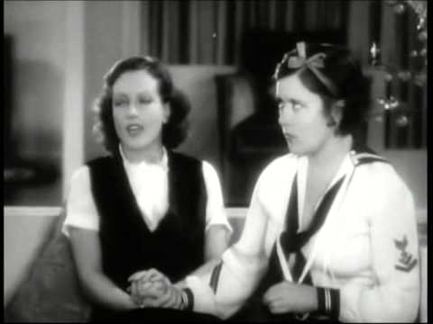 """A scene from the 1930 film """"Paid,"""" with Joan Crawford, Robert Armstrong, Marie Prevost and Purnell Pratt. For more information, visit moviedavid.blogspot.com!"""