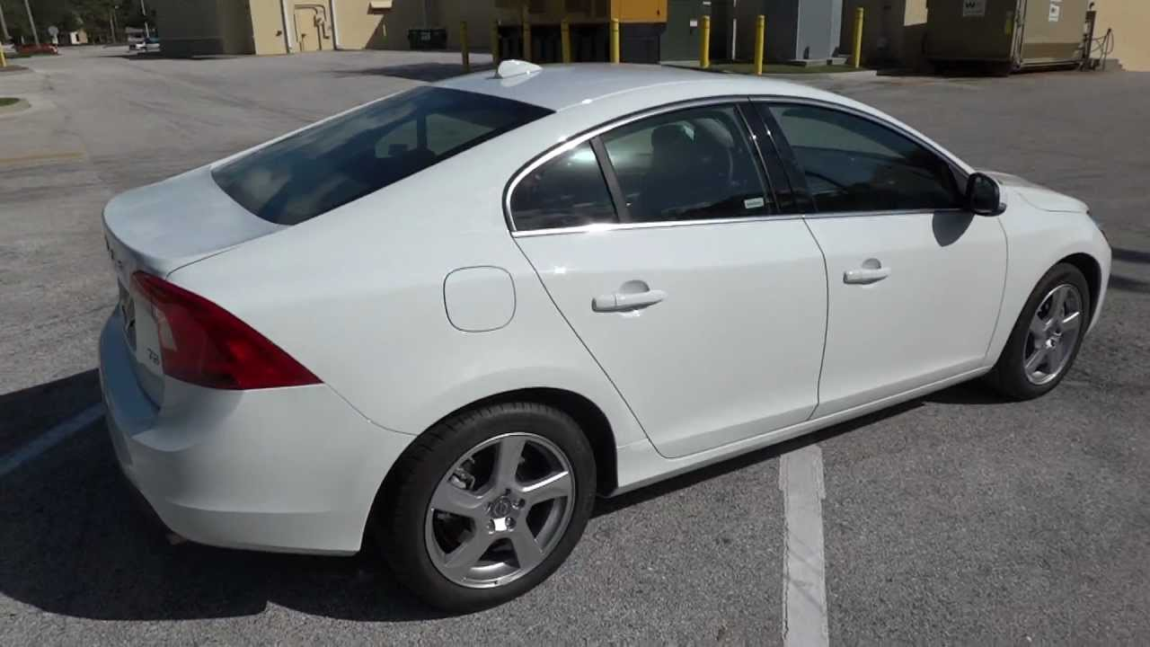 2012 Volvo S60 Test Drive T5 white with black leather S60 Review part 1 Ipod hook up with USB ...