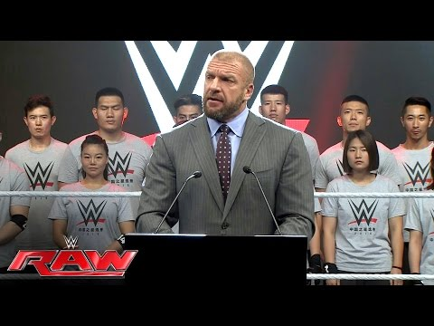 A special look at WWE's recent trip to China: Raw, June 20, 2016