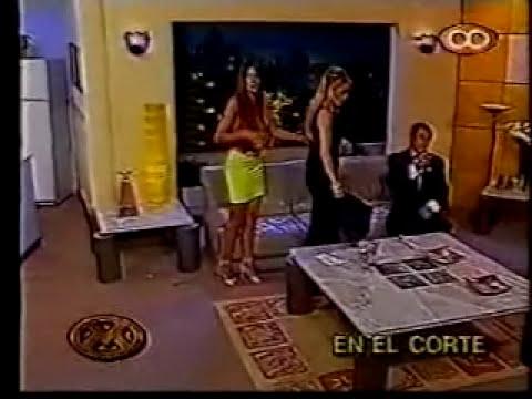 Videomatch 2000 ~ La mesa de Andrea con Cecilia Bolocco (Parte 02)