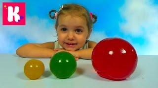 DIY Желейные прыгучие шары из фруктового желе