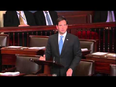 In Senate Floor Speech, Rubio Opposes Iran Deal
