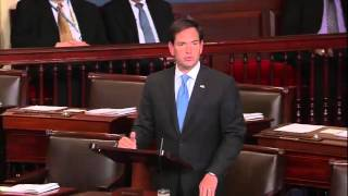 In Senate Floor Speech, Rubio Opposes Iran Deal