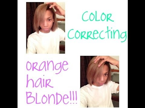 How To Tone Orange Brassy Hair Blonde