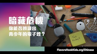 Identify which products teens are vaping – Chinese