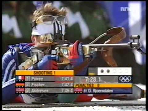 Bjørndalen vinner ol-gull sprint 2002