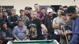 Baianinho de Mauá X Maicon, Desafio de Bola Oito em Lages-SC 2019