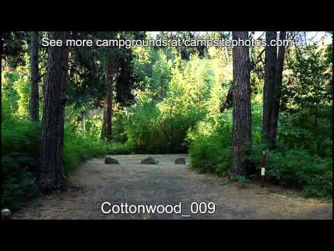Cottonwood Campground, Wenatchee National Forest, Washington Campsite Photos