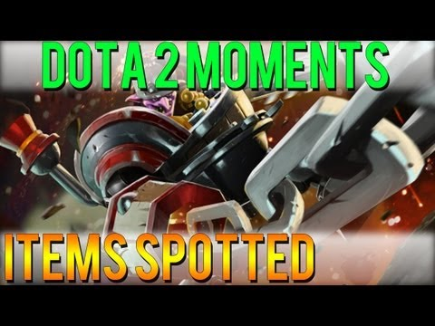Dota 2 Moments - Items Spotted