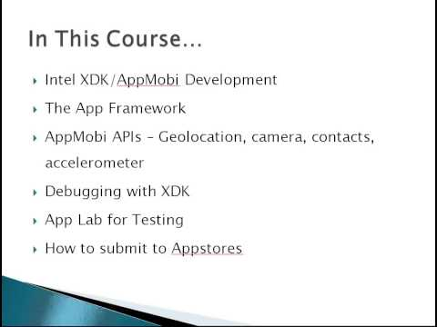 Learn to Build Mobile Apps from Scratch - Chapter 2  - Quick Intro